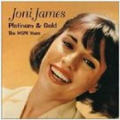 joni james - platinum & gold CD 2-discs 2002 EMI collectors' choice 42 tracks used mint