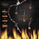 w.a.s.p. - unholy terror CD 2001 sanctuary 10 tracks used