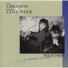 clive gregson & christine collister - a change in the weather CD 1989 rhino 11 tracks used mint