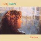 betty elders - crayons CD 1995 flying fish whistling pig 13 tracks used