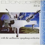 elton john live in australia CD 1987 happenstance MCA 14 tracks used mint