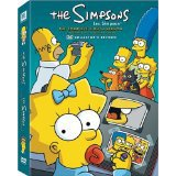 simpsons - complete eighth season collectors edition DVD 2006 20th century fox used mint