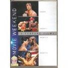 rocky rocky II rocky III rocky iv DVD 4-discs 2011 MGM PG used mint