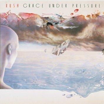 rush - grace under pressure CD 1984 anthem mercury 8 tracks used mint