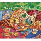 putumayo presents - music from the tea lands CD 2000 10 tracks used mint