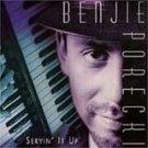 benjie porecki - servin' it up CD 1998 severn 12 tracks used mint