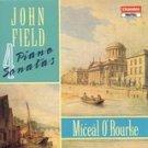 john field - 4 piano sonatas - miceal o'rourke CD 1990 chandos sed mint