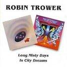 robin trower - long misty days / in city dreams CD 1997 BGO 18 tracks used mint