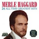 merle haggard - 24 all-time greatest hits CD 2002 tee vee king records used mint