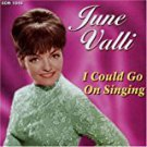 june valli - i could go on singing CD 2003 collectors' choice 12 tracks used mint
