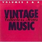 vintage music collectors series volumes 5 & 6 - various artists CD 1986 MCA 20 tracks used mint