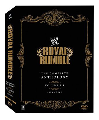 WWE Royal Rumble - The Complete Anthology Vol. 3 DVD 5-disc set 2007 WWE used