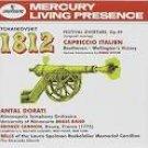 tchaikovsky - 1812 overture + capriccio italien - dorati CD 1995 mercury used mint