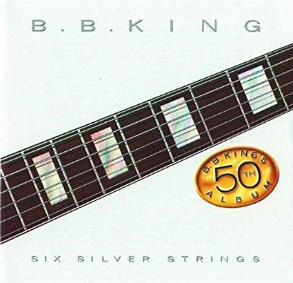 b. b. king - six silver strings CD 1985 MCA 8 tracks used