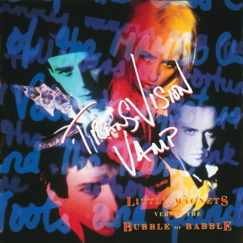 transvision vamp - little magnets versus bubble of babble CD 1991 MCA 10 tracks used mint