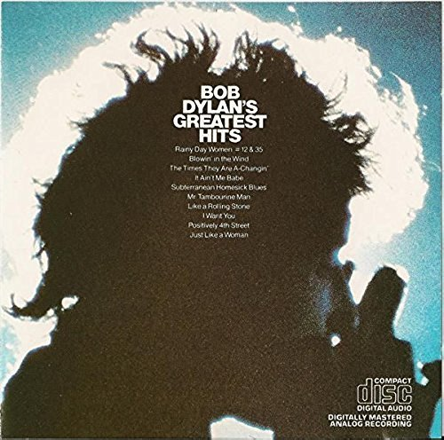 bob dylan's greatest hits CD 1984 CBS sony 10 tracks used mint