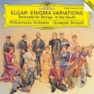 elgar - enigma variations CD 1990 deutsche Grammophon used mint
