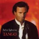 julio iglesias - tango CD 1996 sony 12 tracks used mint
