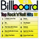 billboard top rock n roll hits 1970 - various artists CD 1989 rhino 10 tracks used mint