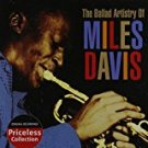 miles davis - ballad artistry of miles davis CD 1992 EMI 2004 collectables 10 tracks used mint