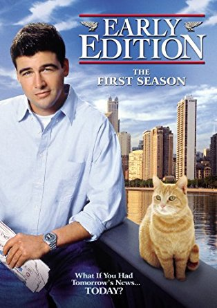 early edition - the first season DVD 6-discs 2008 CBS paramount used