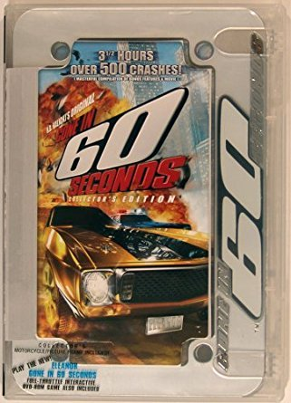 gone in 60 seconds - collector's edition DVD 2002 halicki films PG used