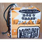 supergrass - bag o' grass 5-CD singles +  XL T-shirt in a bag #353 Parlophone used