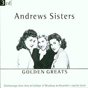 andrews sisters - golden greats CD 3-discs 2001 disky 65 tracks used mint