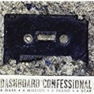 dashboard confessional - a mark a mission a brand a scar CD + DVD vagrant used mint