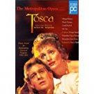 tosca - metropolitan opera - hildegard behrens + placido domingo DVD 1998 pioneer used mint