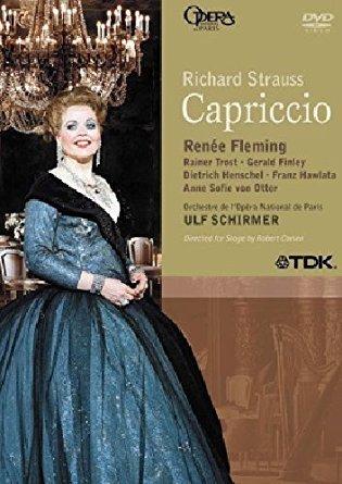 richard strauss - capriccio - renee fleming DVD 2005 TDK opera national de paris used mint