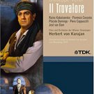 Verdi - Il Trovatore - Domingo, Kabaivanksa, von Karajan, Vienna Opera DVD 2-discs all region