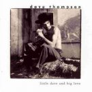dave thompson - little dave and big love Cd 1995 fat possum 11 tracks used mint