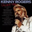 kenny rogers - greatest hits CD 1981 EMI liberty 12 tracks used mint
