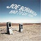 joe bonamassa - had to cry today CD 2004 J&R 11 tracks used mint