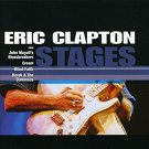 eric clapton - stages CD 1998 spectrum polygram 12 tracks used mint