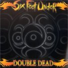 six feet under - double dead CD + DVD 2003 metal blade used mint