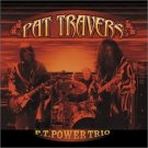 pat travers - p. t. power trio CD 2003 shrapnel blues bureau 10 tracks used mint