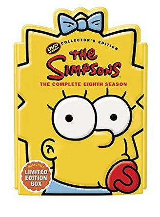 simpsons complete eighth season collector's edition DVD 2006 fox used mint