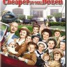 cheaper by the dozen - clifftop webb + jeanne crain DVD 1950 2003 20th century fox new