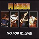 fu manchu - go for it ... live CD 2-discs 2003 steamhammer 22 tracks used mint