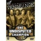 WWF vengeance 2001 - one undisputed champion DVD 2002 180 minutes used mint