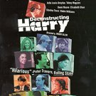 deconstructing harry - caroline aaron + woody allen DVD 1998 new line cinema
