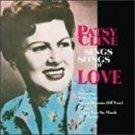 patsy cline - sings songs of love CD 1995 MCA 10 tracks used mint