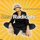 new radicals - you get what you give CD single 1999 MCA 3 tracks used