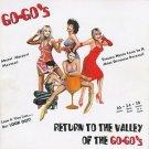 go-go's - return to the valley of the go-go's CD 2-discs 1994 IRS 36 tracks used mint