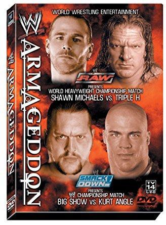 WWE armageddon 2002 DVD 2003 180 minutes used mint