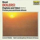ravel - bolero - daphnis and chloe - slatkin CD 1980 telarc 3 tracks used mint
