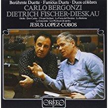 bergonzi + fischer-dieskau - famous duets CD 1982 orfeo harmonia mundi 8 tracks used mint