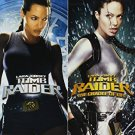 Lara Croft: Tomb Raider / Lara Croft: Tomb Raider - Cradle of Life DVD 2-discs 2008 paramount used